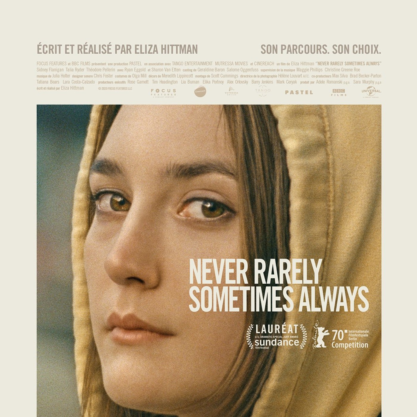 Critique du Film Never Rarely Sometimes Always