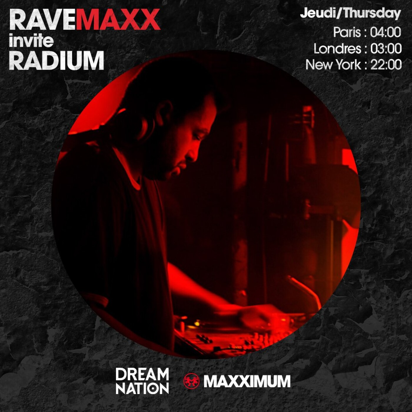 RAVEMAXX : DREAM NATION FESTIVAL AVEC RADIUM