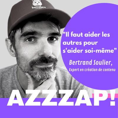 """""""Tout le monde peut créer du contenu"""", Bertrand Soulier, expert en création de contenu cover"""
