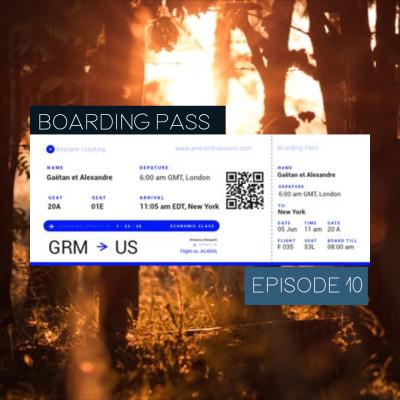 Boarding Pass 010 ✈️ Lauge et alva noto cover