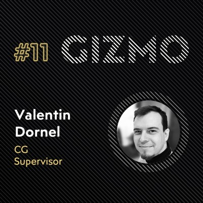 """#11 - Valentin Dornel """"Valdo"""" - Cg Supervisor - Menhir Fx cover"""