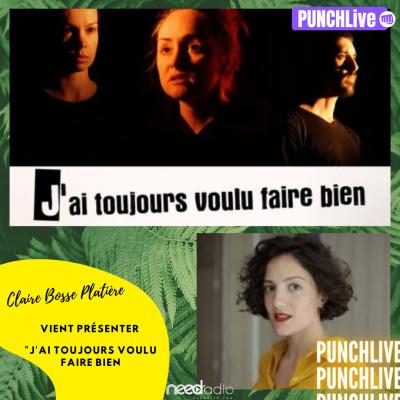 Punch Live avec Claire Bosse-Platière (Quentin & son équipe) (05/10/20) cover
