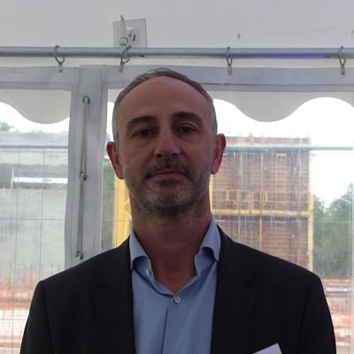 Christophe Bouniol (Thésée Datacenter), pose de la première pierre de Thésée Datacenter cover