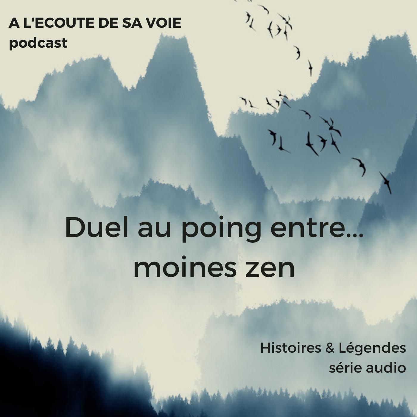 HORS SERIE : Duel au poing entre... moines zen