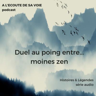HORS SERIE : Duel au poing entre... moines zen cover