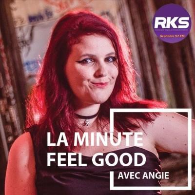 La Minute Feel Good avec Angie #025 cover