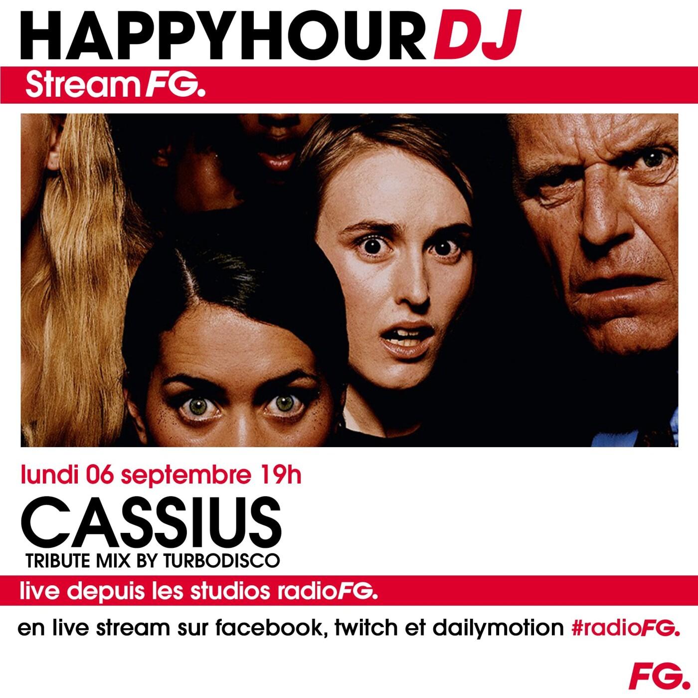 HAPPY HOUR DJ : CASSIUS TRIBUTE MIX BY TURBODISCO