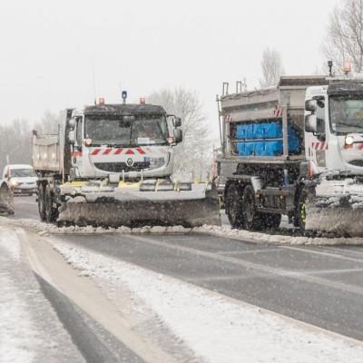Neige attendue : saleuses et chasse-neige mobilisés cover