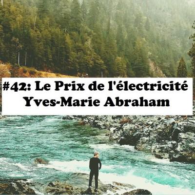 #42: Le prix de l'électricité - Yves-Marie Abraham cover