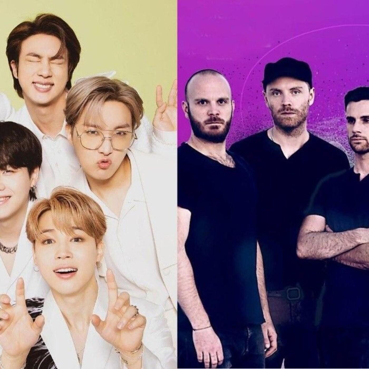 La collab Coldplay / BTS arrive !