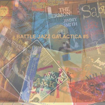 BATTLE JAZZ GALACTICA #5 cover