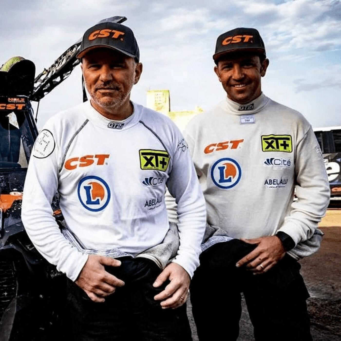 Minute Sport spécial rallye dakar avec Eric Abel et Christian Manez