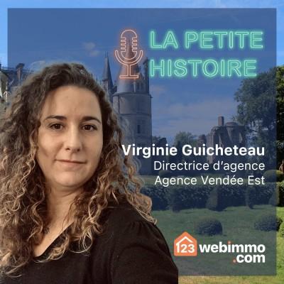 La petite histoire 123webimmo.com - EP 05 avec Virginie de l'agence Vendée Es cover
