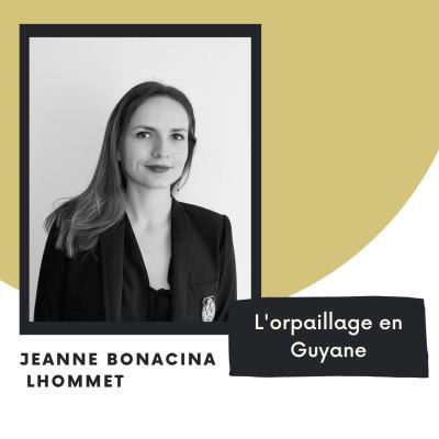 L'orpaillage en Guyane - Jeanne Bonacina Lhommet cover