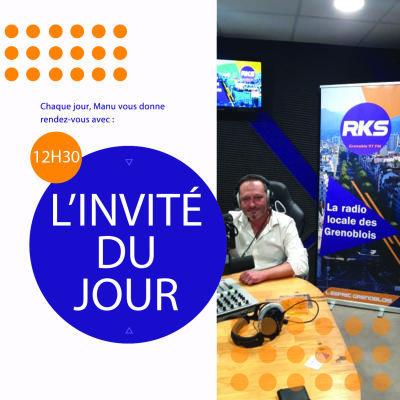 image L'invité du jour avec Aymeric Perroy Directeur du service Culture et Patrimoine du département de l'Isère