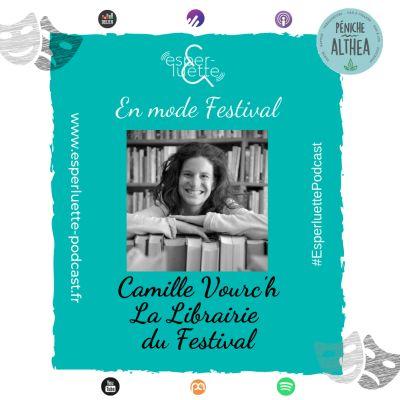 """image """"En mode Festival"""" - Camille Vourc'h - La Librairie du Festival"""