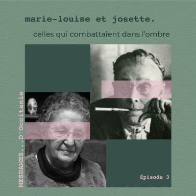 Épisode 3 - Marie-Louise & Josette cover