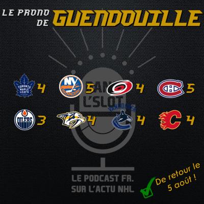 Playoffs NHL 2020 - Les pronos de Guendouille (Tour de qualification) cover