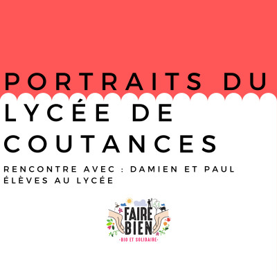 [La Relève] Damien et Paul, anciens élèves du Campus Métiers nature de Coutances cover