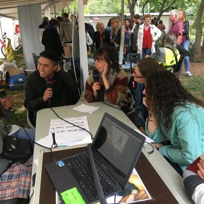 image Radio Bitume - émission n°15  Hors les murs au Forum des Associations du 10ème - enregistrée le dimanche 8 septembre