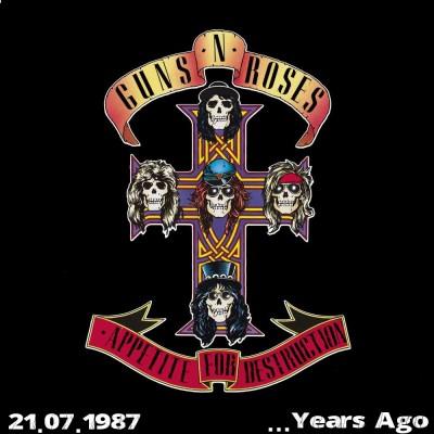MDAM - 34 Years Ago - Appetite for destruction sorti le 21 juillet 1987 avec Gaewen cover