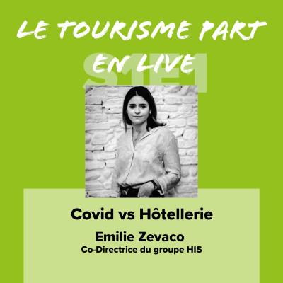 Emilie Zevaco Hôtellerie vs Covid-19 cover