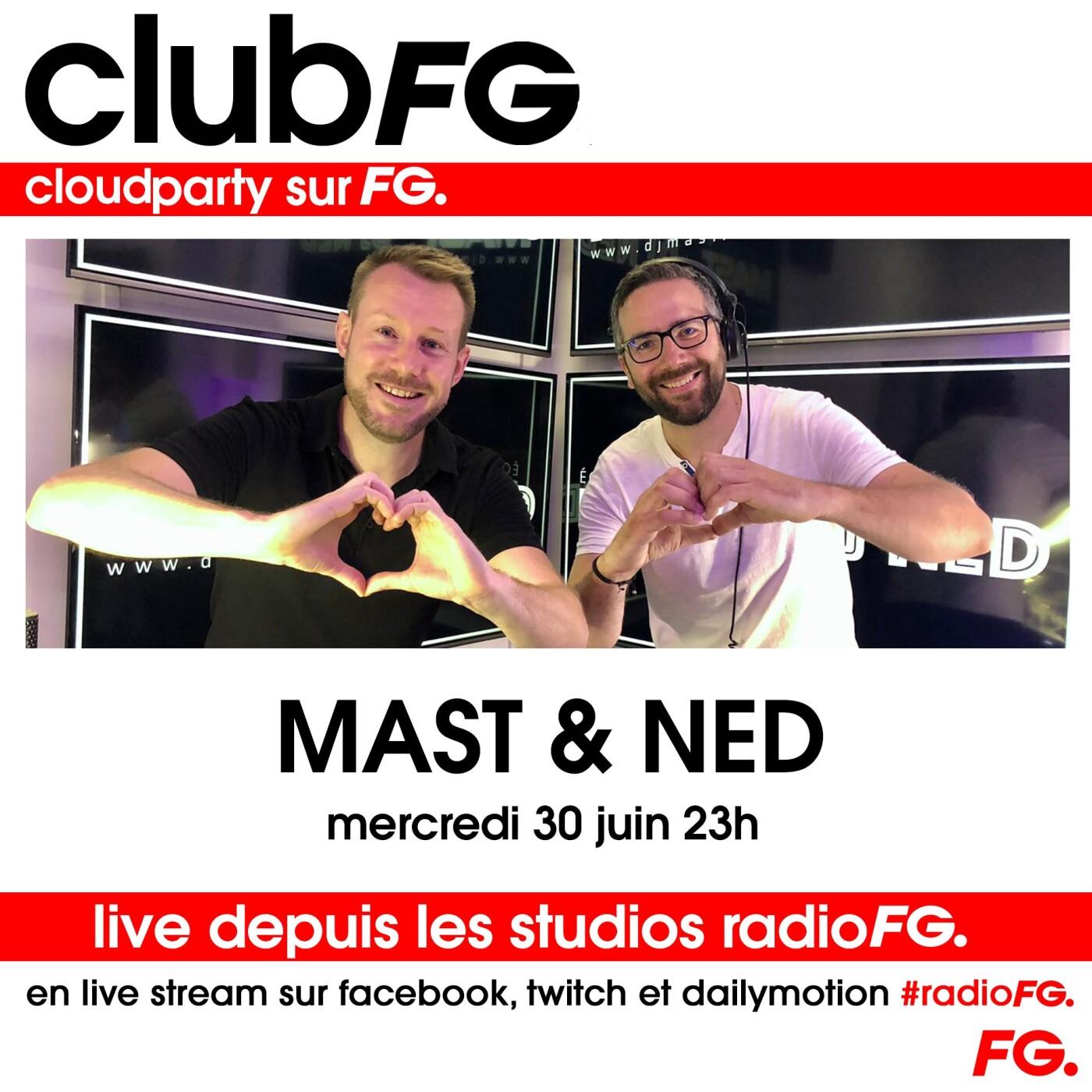 CLOUD PARTY : DJ MAST & DJ NED