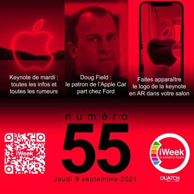 iWeek (la semaine Apple) 55 : toutes les infos et rumeurs avant la keynote iPhone 13 cover