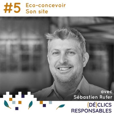#5 Eco-concevoir son site - avec Sébastien Rufer cover