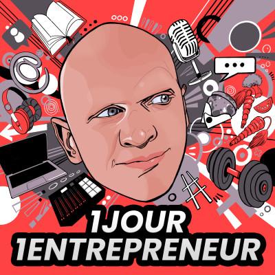 """Hors-Série 5 - Le créateur de BSG, Marc Mortelmans, invité de """"1 jour, 1 entrepreneur"""" cover"""
