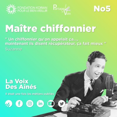 Episode 5 : Maître chiffonnier cover