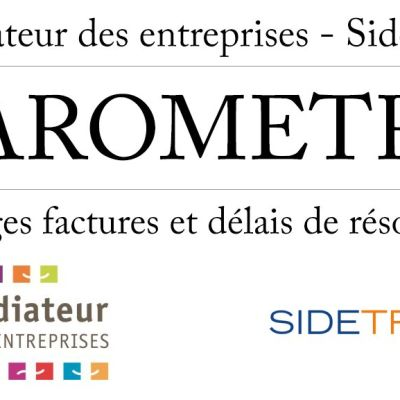 """image MDE 2019 E12 """"baromètre des délais de paiement en France"""""""