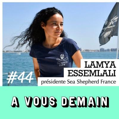 #44 l Réédition - Lamya Essemlali (Sea Shepherd) : l'activiste des océans cover