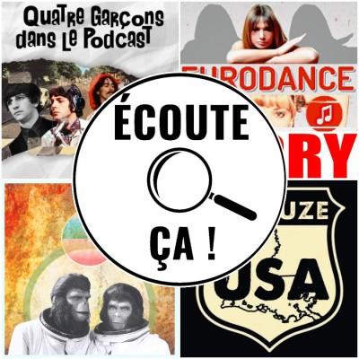 Ep 78 : Zikdepod S03E01 (Cornelius et Zira, Eurodance Story, 4 garçons dans le podcast, Binouze USA) cover