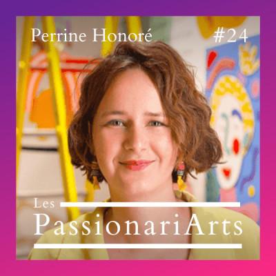 #24 Perrine Honoré, illustratrice et muraliste - Du feu dans les yeux cover