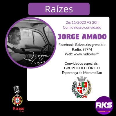 LUSOTIME - Emission du 26/11/2020 avec Jorge Amado E Esperança de Montmelian cover