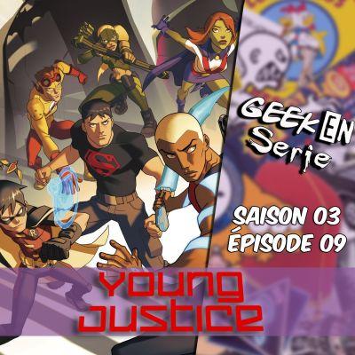image Geek en série 3x09 : Young Justice