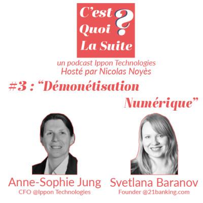 """CQLS - Episode 3 : """"Démonétisation Numérique"""" cover"""