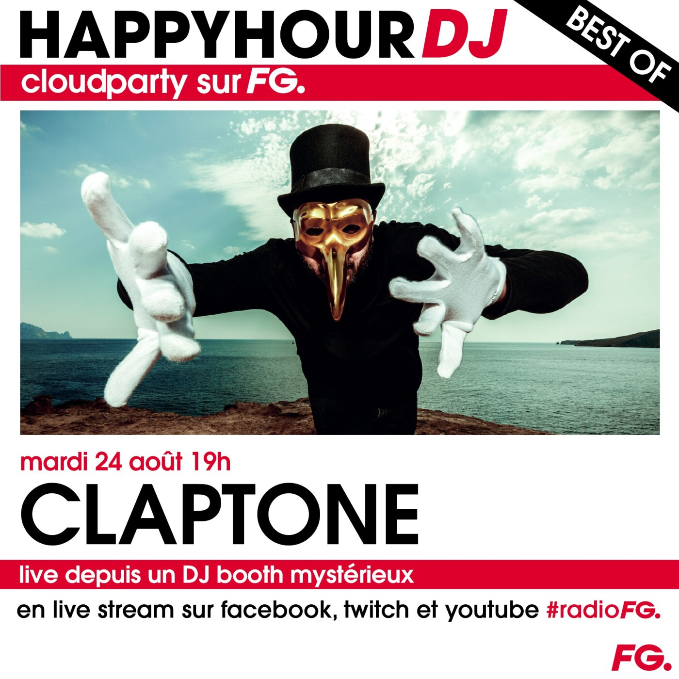 HAPPY HOUR DJ BEST OF : CLAPTONE