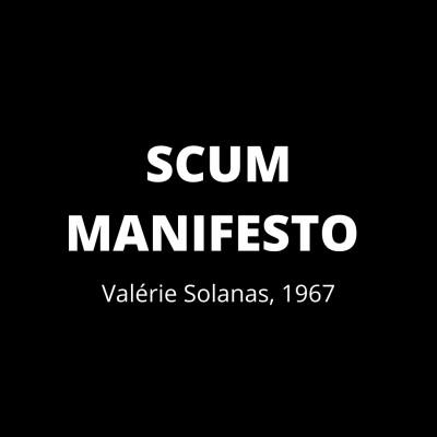 SCUM MANIFESTO - part 5 cover