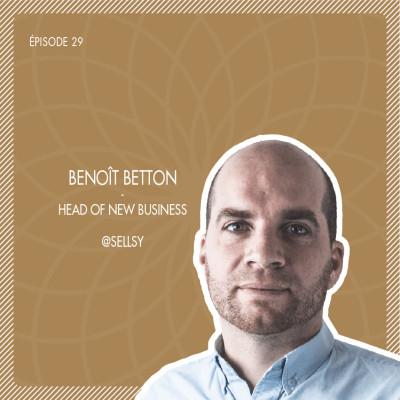 #29 Sellsy : Le logiciel complet de gestion commerciale avec Benoît Betton cover