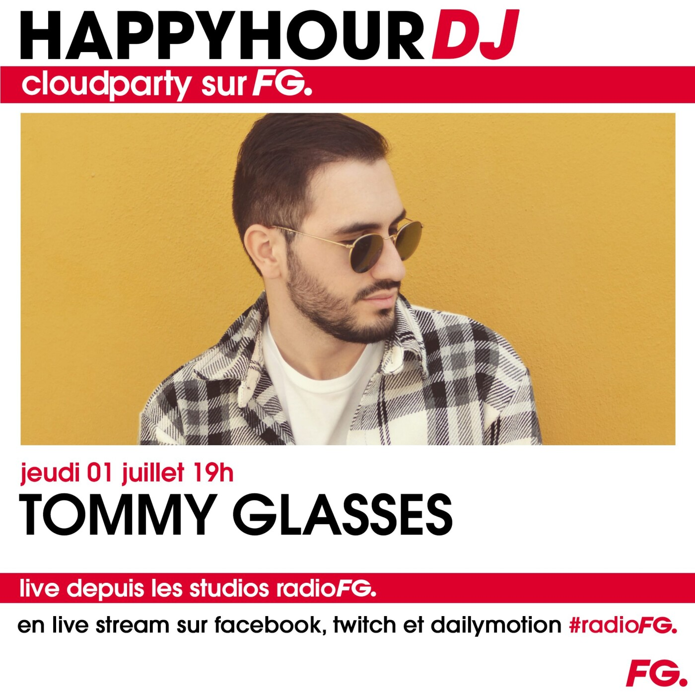 HAPPY HOUR : TOMMY GLASSES