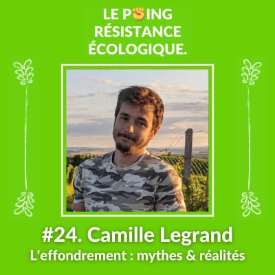 24. Camille Legrand - L'effondrement : Mythes & Réalités cover