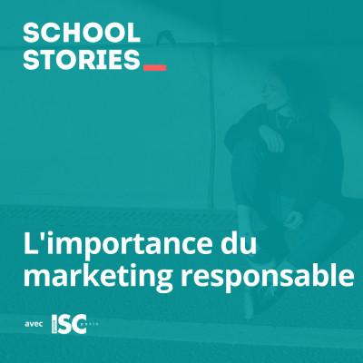 L'importance du marketing responsable - ISC Paris cover