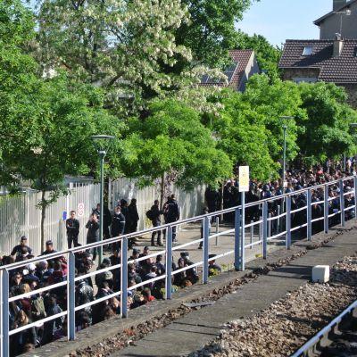 image A Arcueil devant le centre d'examens : « Pas de partiels sous présence policière ! »