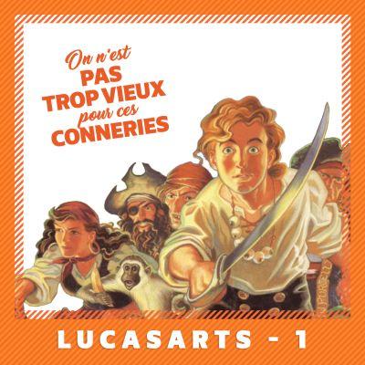 image LucasArts - partie 1 (1984 - 1995)