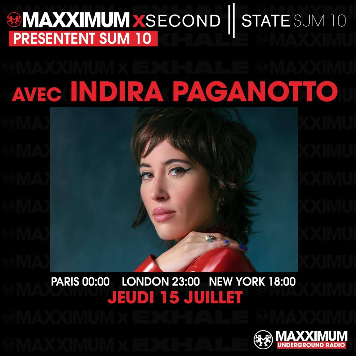 MAXXIMUM INVITE SECOND STATE : INDIRA PAGANOTTO