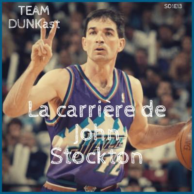 image Team Dunkast - La carrière de John Stockton