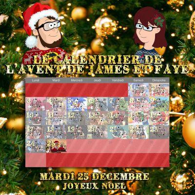 Calendrier de l'avent 25 décembre : joyeux noel cover