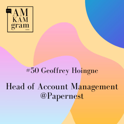 Episode 50 : Geoffrey, Head of Account Management chez Papernest cover